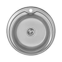 Кухонна мийка Imperial 510-D Polish нержавіюча сталь