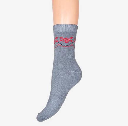 "Бамбуковые махровые носки ""Роза"" (арт. B359), фото 2"