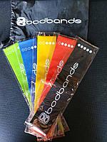 Эспандер резинки для фитнеса набор, Bodbands для тренировок и спорта 5 шт