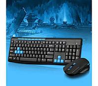 HK3800 2.4GHz Wireless Gaming Office Клавиатура и 1600DPI Optics Мышь Combo Набор (MH-256)! Акция