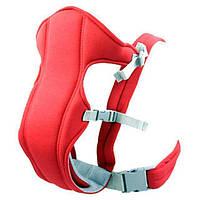 Слинг-рюкзак (носитель) для ребенка Babby Carriers Красный! Хит продаж