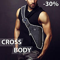 Стильная мужская сумка мессенджер Cross Body! Хит продаж