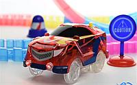 Детский игрушечный трек для машинок на пульте управления DAZZLE TRACKS 187 деталей   конструктор трасса!