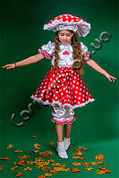 Карнавальный костюм Мухомор для девочки, фото 1