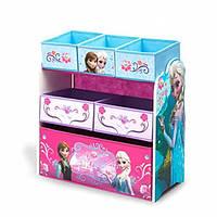 Органайзер для игрушек с ящиками Холодное сердце Delta Children Multi-Bin Toy Organizer, Disney Frozen