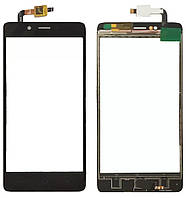 Touchscreen (сенсор) для Elephone P6000 Чорний