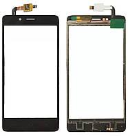 Touchscreen (сенсор) для Elephone P6000 Pro Чорний