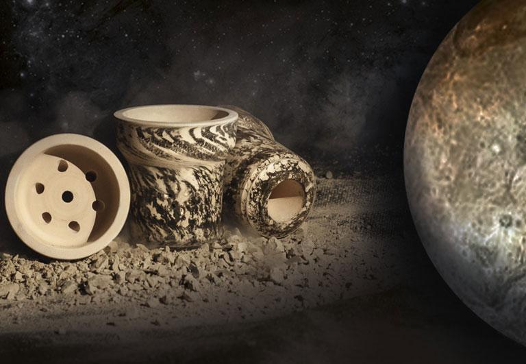 ЧАША ДЛЯ КАЛЬЯНА SOLARIS CHARON (СОЛЯРИС ХАРОН - Глиняная чаша)