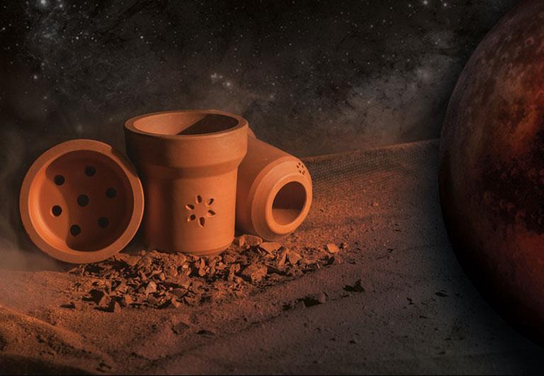 ЧАША ДЛЯ КАЛЬЯНА SOLARIS MARS (СОЛЯРИС МАРС - Глиняная чаша)