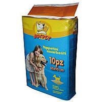 Пелюшки абсорбуючі для собак та цуценят JOYPET 60х90см, 10 шт.