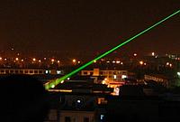 Лазерная указка зелёный с  5 насадками / 5 в 1