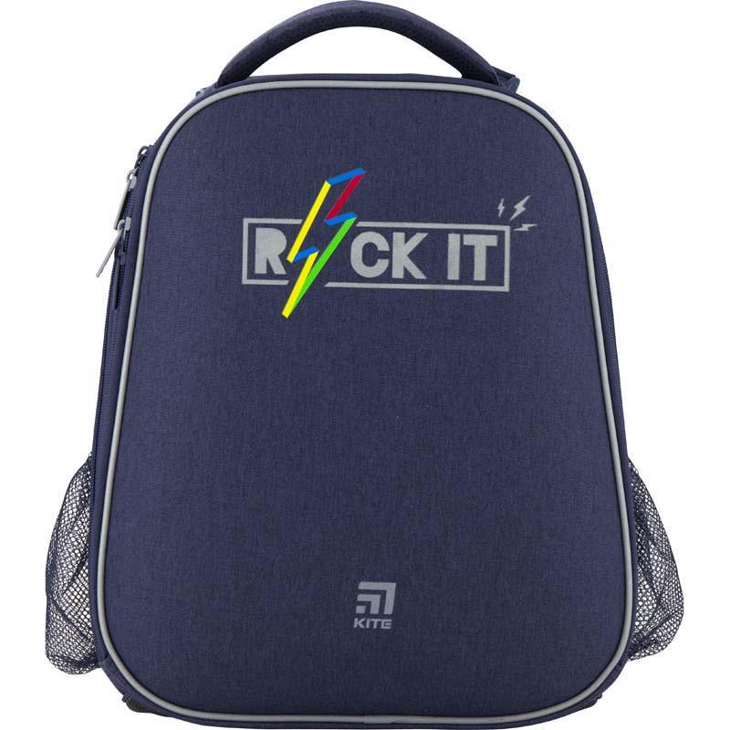 Рюкзак шкільний каркасний Kite Education Rock it K20-531M-2, 44329