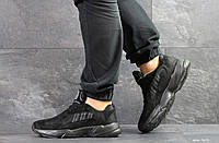 Кроссовки Adidas Yung, черные, 42р. по стельке 27см