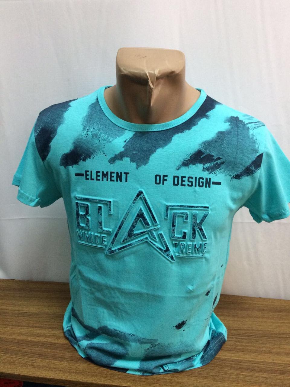 Мужская футболка BLACK