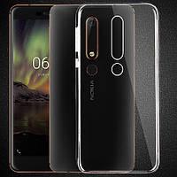 Ультратонкий 0,3 мм чехол для Nokia 6.1 (2018), фото 1