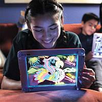 Светящаяся электронная доска для рисования, 3D доска для рисования Magic pad, 3D набор для рисования! Акция