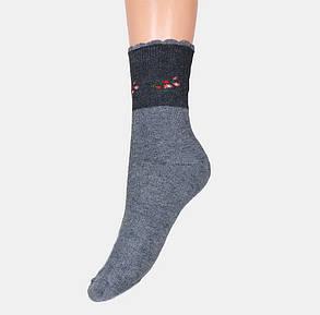 Двухцветные махровые носки (B360)   12 шт., фото 2