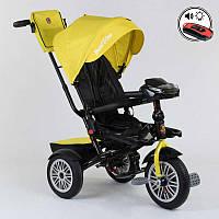 Велосипед Best Trike трехколесный с поворотным сидением желтый SKL11-179333