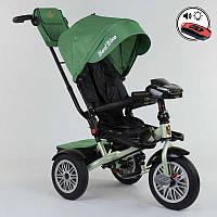 Велосипед Best Trike трехколесный с поворотным сидением зеленый SKL11-179335
