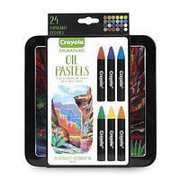 Crayola Масляная пастель профессиональная 24 цвета signature oil pastels