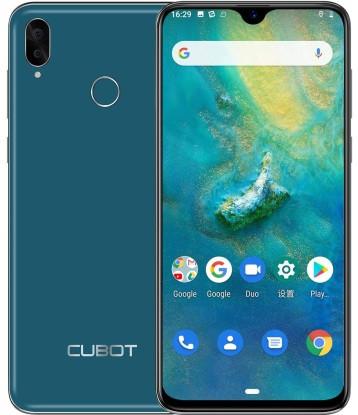 "Смартфон Cubot R15 Pro 3/32 Green, 16+2/13Мп, 2 SIM, 6.26"" IPS, Helio A22, 3000 мАч, 4G"