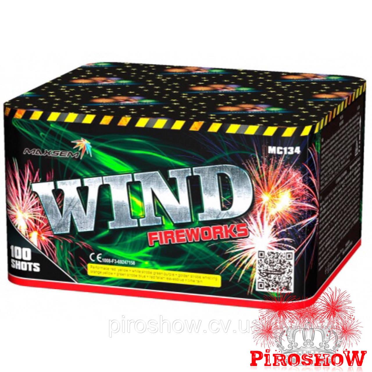 Салютная установка WIND FIREWORKS 100 выстрелов 20 калибр | Фейерверк MC134 Maxsem