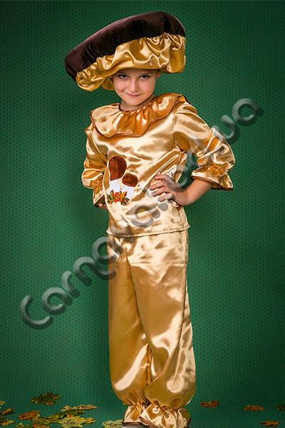 Карнавальный костюм Гриб Боровик золотистый