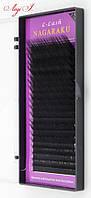 Ресницы Nagaraku L 0.10 MIX 7-15мм. чёрные