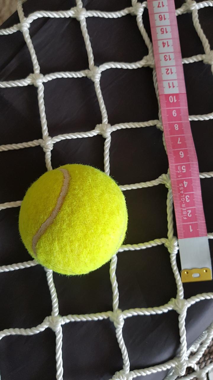Сетка спорт капрон заградительная шнур 3,5 мм ячейка 45 мм