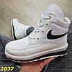 Дутики черевики білі найк, фото 8