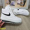 Дутики черевики білі найк, фото 9