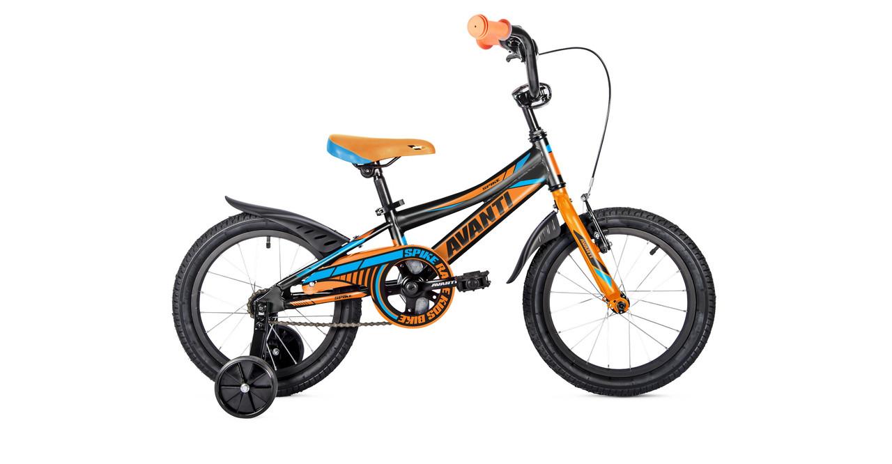 "Велосипед AVANTI 20"" SPIKE 2019 AV000139 чорний/помаранчевий"
