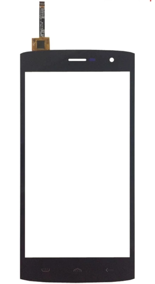 Touchscreen (сенсор) для Homtom HT7 Pro Чорний