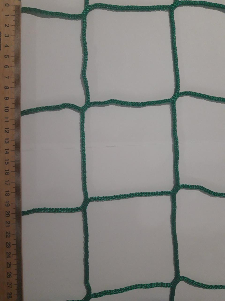 Сетка спорт капрон заградительная шнур 3,5 мм ячейка 75 мм