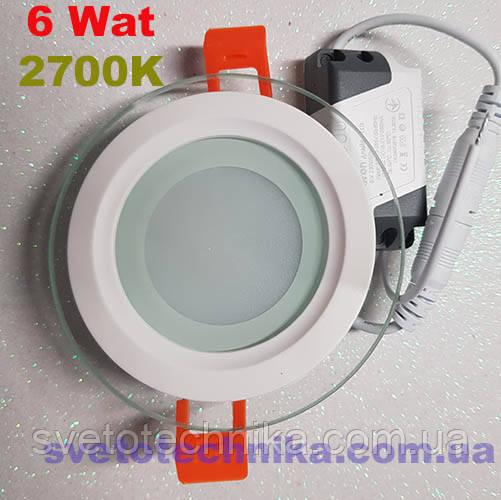 Feron  AL2110 6W 2700K LED панель круг