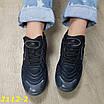Кроссовки черные на амортизаторах силиконовой подушке, фото 8