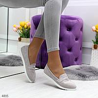 Удобные женские туфли мокасины, фото 1