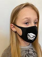 Многоразовый детский респиратор с клапаном Jellys Черный (hub_fbTk63338)