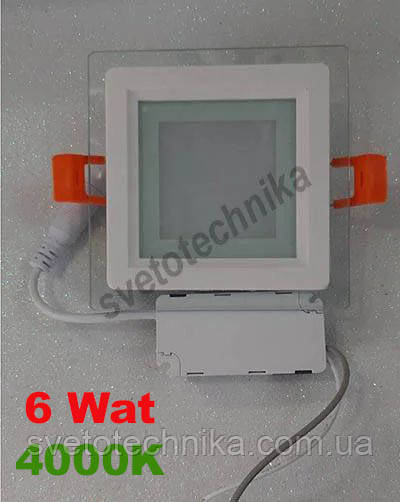 Feron AL2111 6W 5000K LED панель квадрат