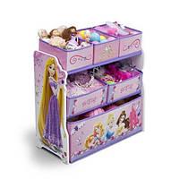 Delta Органайзер для игрушек с ящиками Диснеевские Принцессы Children disney princess Multi Bin