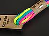 Шнурки Keeper разноцветные (в упаковке) 110 см