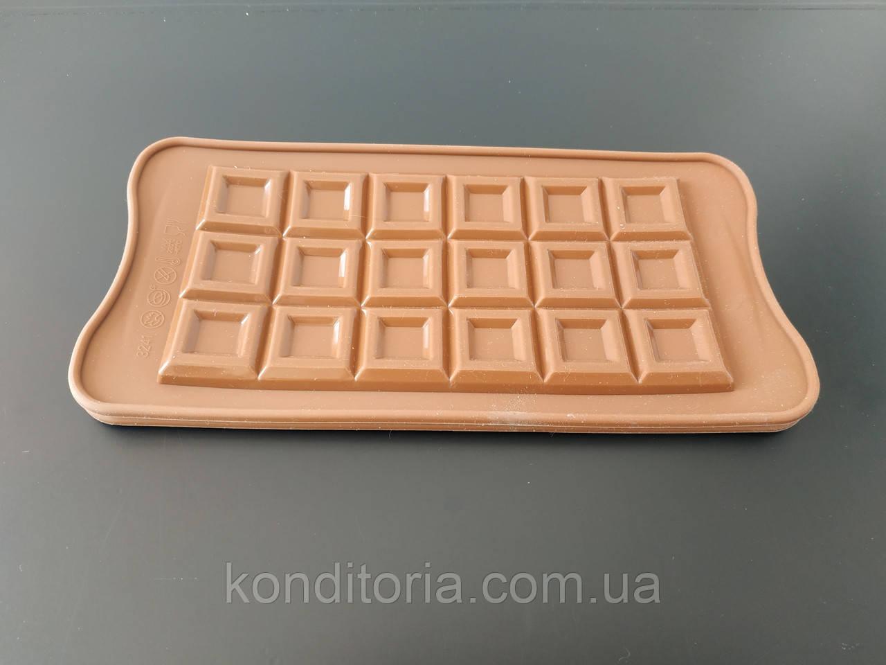 """Форма силіконова """"Шоколадка"""""""