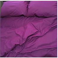 Постельное белье сиреневое, постельное белье однотонное  , постельное бязь евро