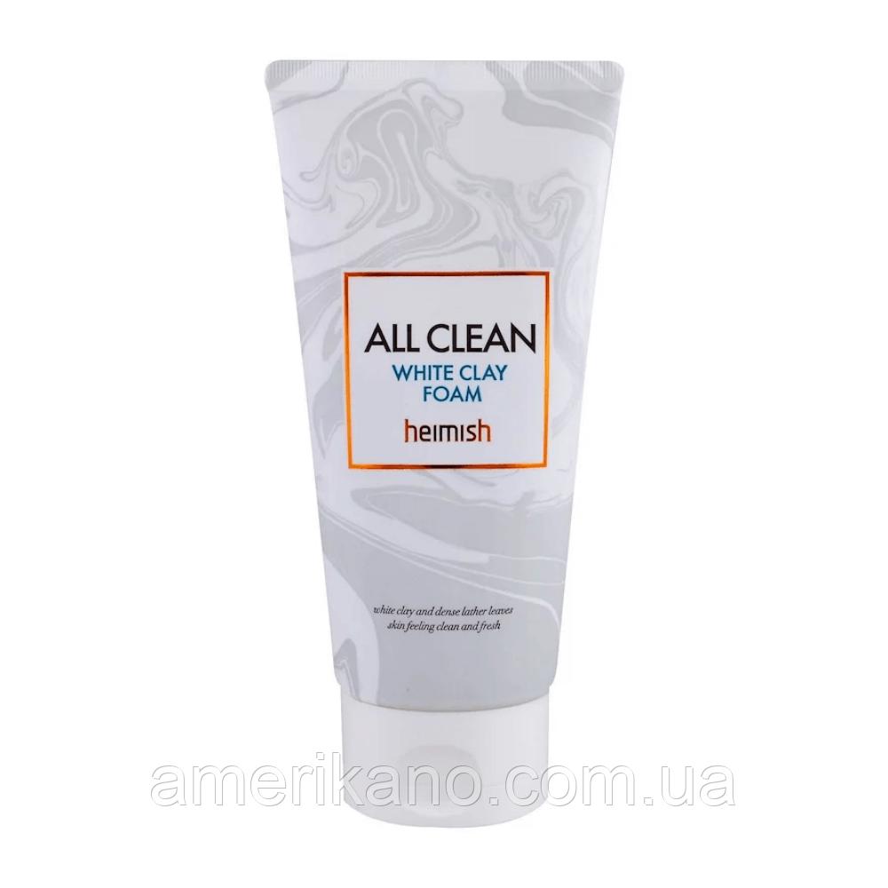 Пенка для умывания с белой глиной HEIMISH All Clean White Clay Foam, 150 мл