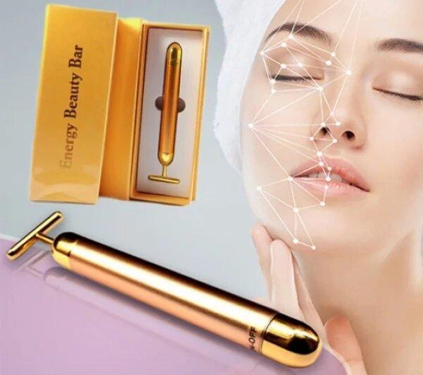 Вибромассажер для лица ионный Energy Beauty Bar
