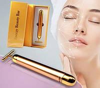 Вибромассажер для лица ионный Energy Beauty Bar, фото 1