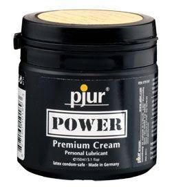 Густа змазка для фістінга і анального сексу pjur POWER Premium Cream 150мл на гібридній основі