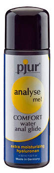 Анальна мастило pjur analyse me! Comfort water glide 30 мл на водній основі з гиалуроном