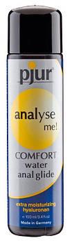 Анальна мастило pjur analyse me! Comfort water glide 100 мл на водній основі з гиалуроном