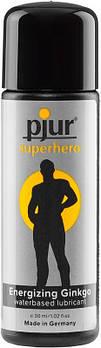 Стимулирующая смазка на водной основе pjur Superhero glide 30 мл, для него